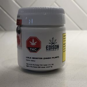 Edison Cannabis CO. – Lola Montes